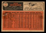 1966 Topps Venezuelan #148   Bob Johnson Back Thumbnail