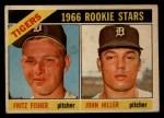 1966 Topps Venezuelan #209   -  Fritz Fisher / John Hiller Tigers Rookies Front Thumbnail