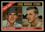 1966 Topps Venezuelan #356  Red Sox Rookies  -  Ken Sanders / Owen Johnson Front Thumbnail