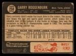 1964 Topps Venezuelan #258   Garry Roggenburk Back Thumbnail