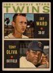 1964 Topps Venezuelan #116   Twins Rookie Stars  -  Jay Ward / Tony Oliva Front Thumbnail