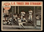1964 Topps Venezuelan #138   1963 World Series - Game #3 - L.A. Takes 3rd Straight - Ron Fairly Front Thumbnail