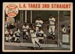 1964 Topps Venezuelan #138  1963 World Series - Game #3 - L.A. Takes 3rd Straight - Ron Fairly  Front Thumbnail