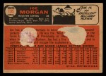 1966 Topps Venezuelan #195  Joe Morgan  Back Thumbnail