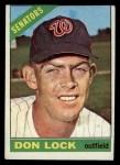 1966 Topps #165  Don Lock  Front Thumbnail