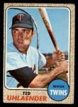 1968 Topps #28  Ted Uhlaender  Front Thumbnail