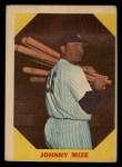 1960 Fleer #38   Johnny Mize Front Thumbnail