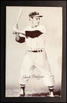 1962 Exhibit Stat Back #22   Frank Malzone Front Thumbnail