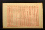 1962 Exhibit Stat Back #4  Yogi Berra  Back Thumbnail