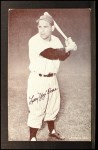 1962 Exhibit Stat Back #4  Yogi Berra  Front Thumbnail