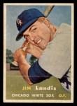 1957 Topps #375   Jim Landis Front Thumbnail