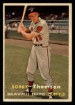 1957 Topps #262  Bobby Thomson  Front Thumbnail