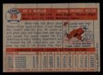 1957 Topps #69  Roy McMillan  Back Thumbnail