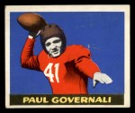1948 Leaf #30 BRN Paul Governali  Front Thumbnail
