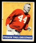 1948 Leaf #21  Paul Christman  Front Thumbnail