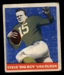 1948 Leaf #22 GRN Steve Van Buren  Front Thumbnail