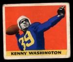 1948 Leaf #17 ^BN^ Kenny Washington  Front Thumbnail