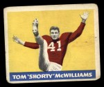 1948 Leaf #31 MAR Tom McWilliams  Front Thumbnail