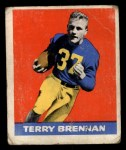 1948 Leaf #11  Terry Brennan  Front Thumbnail