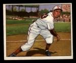 1950 Bowman #106   Cliff Fannin Front Thumbnail