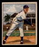 1950 Bowman #214   Dick Fowler Front Thumbnail