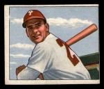 1950 Bowman #121   Andy Seminick Front Thumbnail