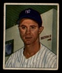1950 Bowman #154  Gus Niarhos  Front Thumbnail