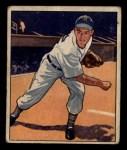 1950 Bowman #42   Art Houtteman Front Thumbnail