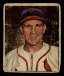 1950 Bowman #35  Enos Slaughter  Front Thumbnail