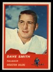 1963 Fleer #35  Dave Smith  Front Thumbnail