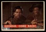 1956 Topps Davy Crockett #58 GRN Georgie Come Back  Front Thumbnail