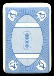 1971 Topps Game Inserts #30   Larry Csonka Back Thumbnail