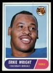 1968 Topps #200  Ernie Wright  Front Thumbnail