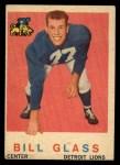 1959 Topps #122   Bill Glass Front Thumbnail