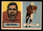 1957 Topps #26   Ollie Matson Front Thumbnail