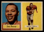 1957 Topps #129   Joe Perry Front Thumbnail