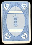 1971 Topps Game Inserts #10  Gale Sayers  Back Thumbnail