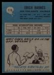 1964 Philadelphia #113  Erich Barnes   Back Thumbnail
