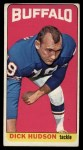 1965 Topps #31  Dick Hudson  Front Thumbnail