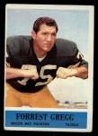 1964 Philadelphia #73   Forrest Gregg Front Thumbnail