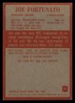 1965 Philadelphia #21   Joe Fortunato  Back Thumbnail