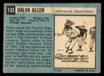 1964 Topps #132   Dalva Allen Back Thumbnail