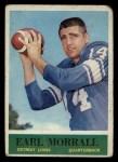 1964 Philadelphia #65   Earl Morrall  Front Thumbnail