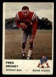 1961 Fleer #183   Fred Bruney Front Thumbnail
