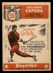 1959 Topps #553  All-Star  -  Orlando Cepeda Back Thumbnail