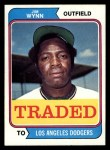 1974 Topps Traded #43 T Jim Wynn  Front Thumbnail