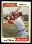 1974 Topps #462  Luis Alvarado  Front Thumbnail