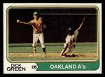 1974 Topps #392  Dick Green  Front Thumbnail