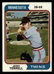 1974 Topps #481  Jerry Terrell  Front Thumbnail