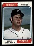 1974 Topps #292  Chuck Seelbach  Front Thumbnail